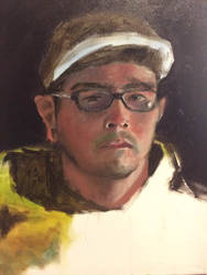 Self Portrait Study by 814CK5T4R