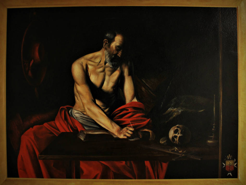 Saint Jerome Writing by 814CK5T4R