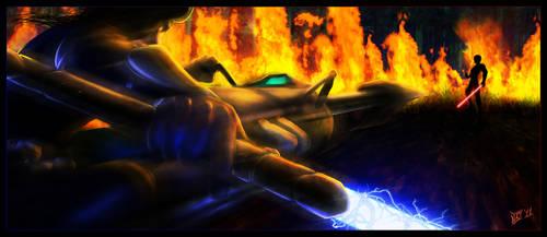 :: Tython Battle :: by warui-shoujo