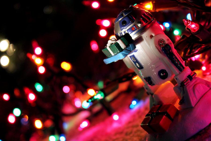r2d2 christmas v2 by warui shoujo - R2d2 Christmas Lights