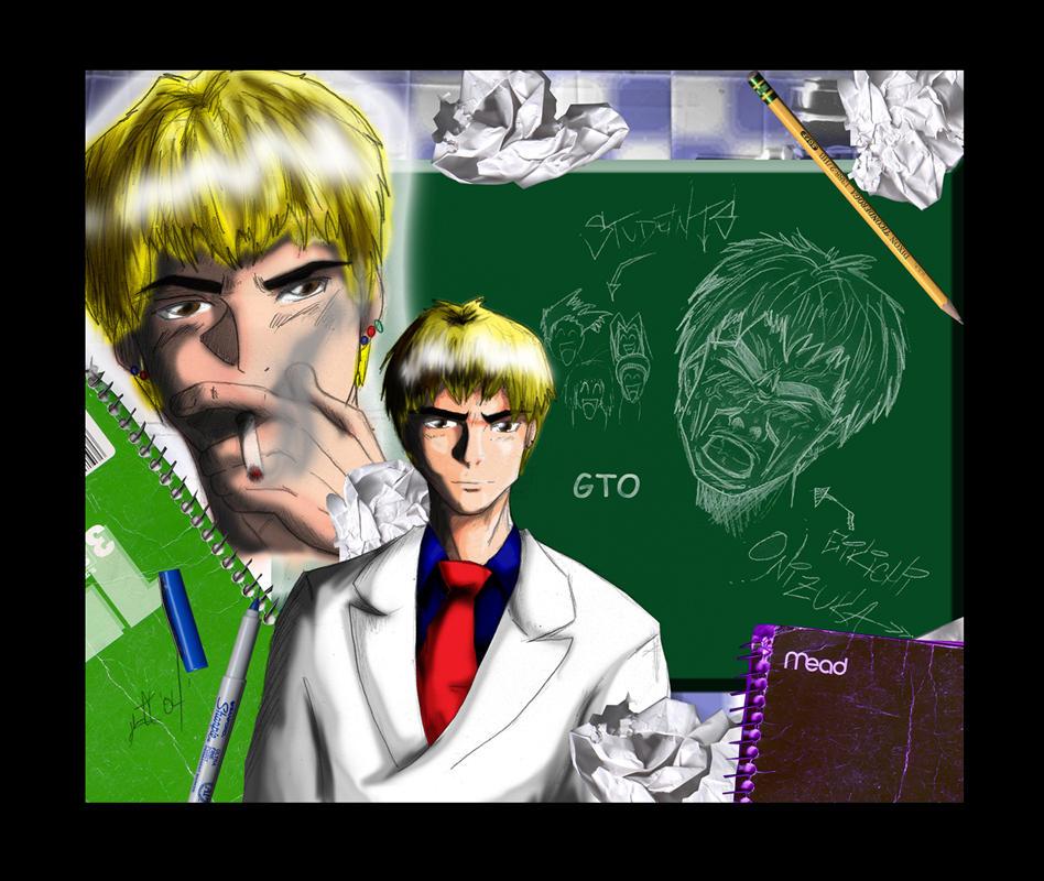 GTO-Great Teacher ONIZUKA By Warui-shoujo On DeviantArt