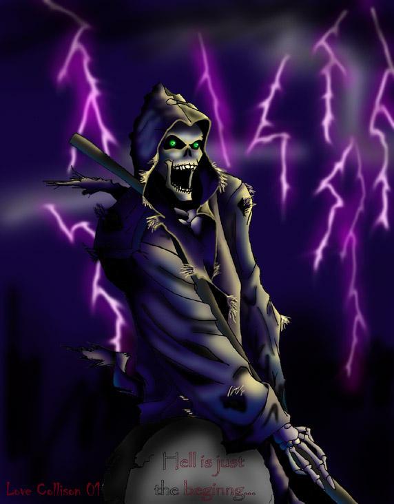 Grim Reaper by warui-shoujo