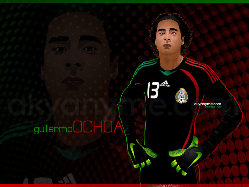 Guillermo ochoa wallpaper by afrodytta on deviantart - Guillermo ochoa wallpaper ...