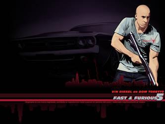 Dom Toretto FF5 wallpaper by afrodytta