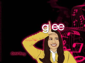 Glee Wall - Rachel Berry by afrodytta