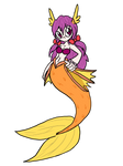 The new adopted Mermaid OC: Cynia Bramsstedt