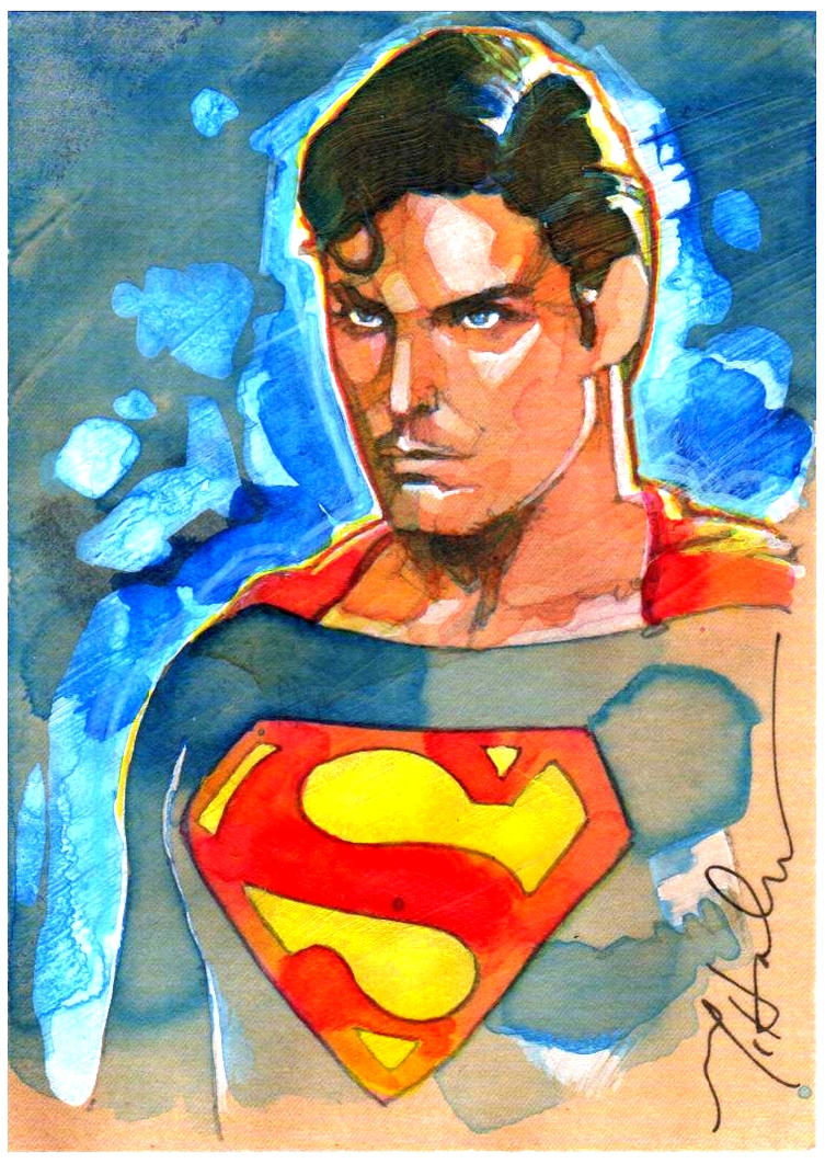 Superman....THE Superman by markmchaley