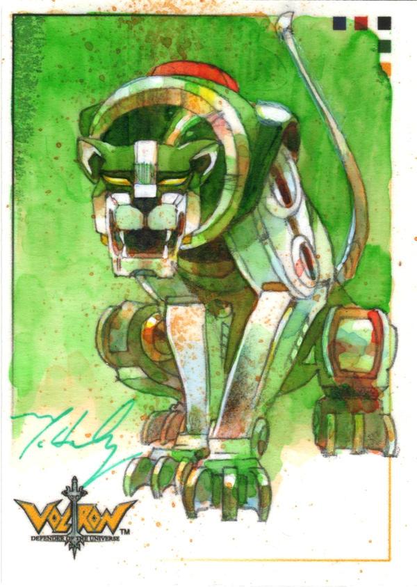 Green Lion Voltron VOLTRON Green Lion by