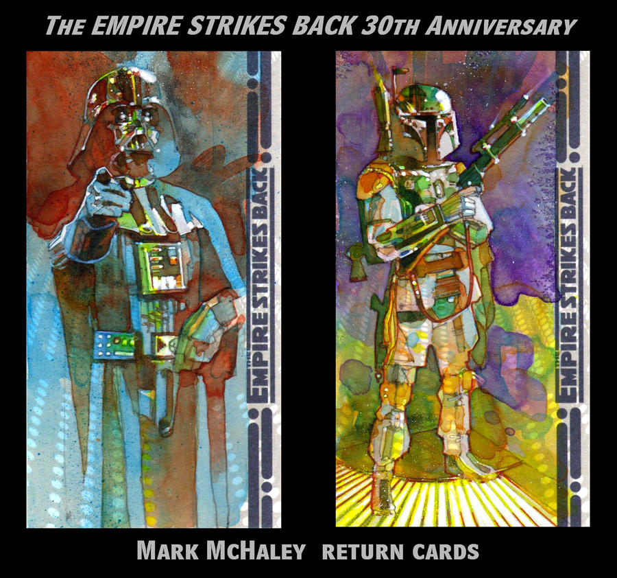 ESB 30th Ann. Return Cards by markmchaley
