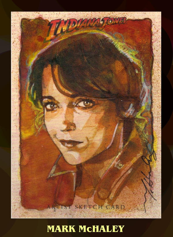 Marion Ravenwood by markmchaley