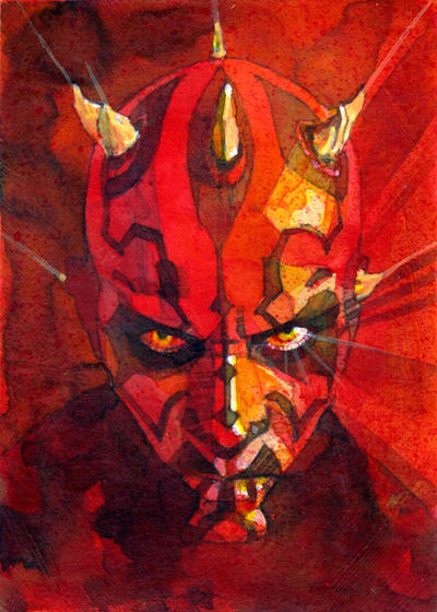 Maul Galaxy 7 by markmchaley