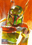 Fett Galaxy 7 Return Card