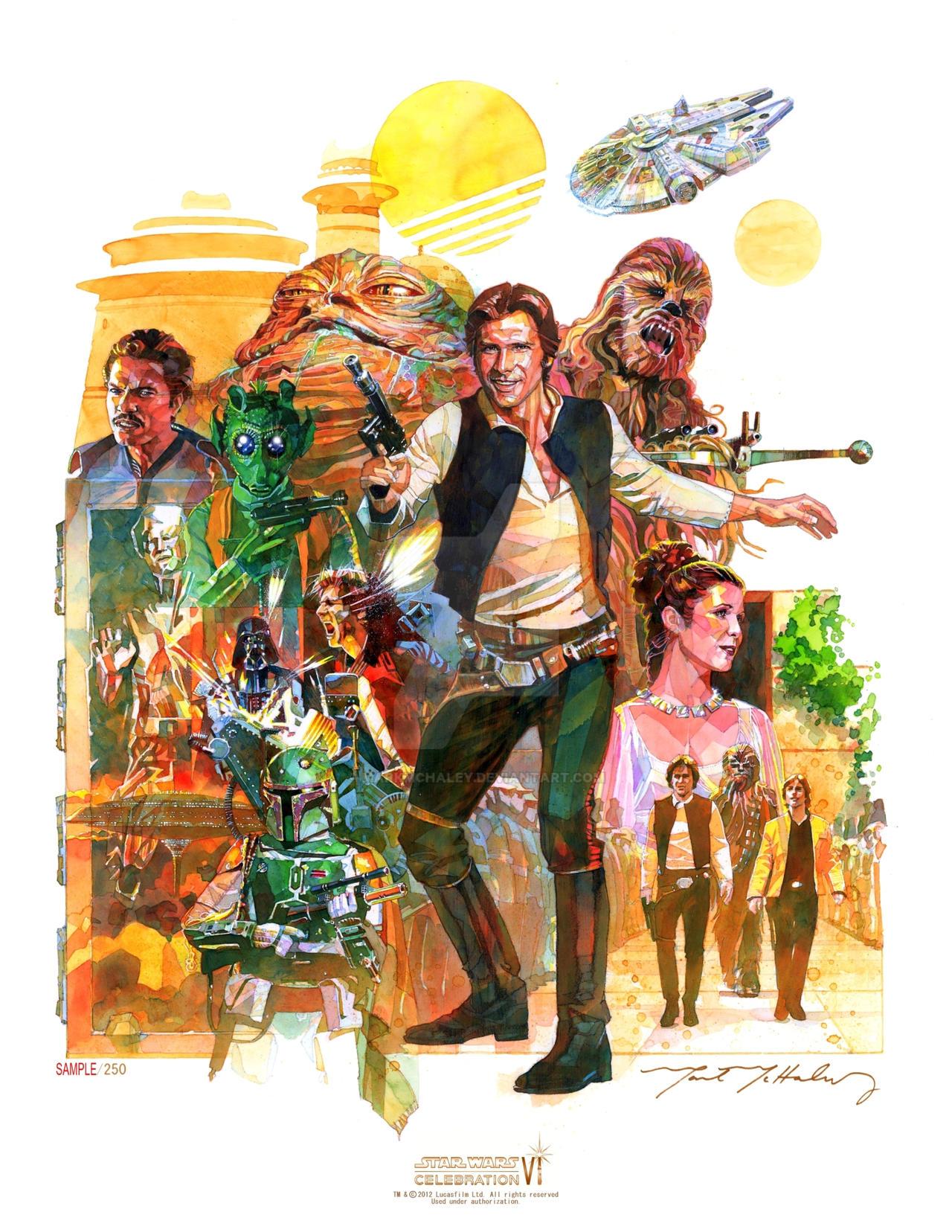 Star Wars Celebration VI by markmchaley