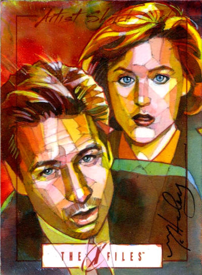 Mully Scully + Sculder Mulder :) by markmchaley