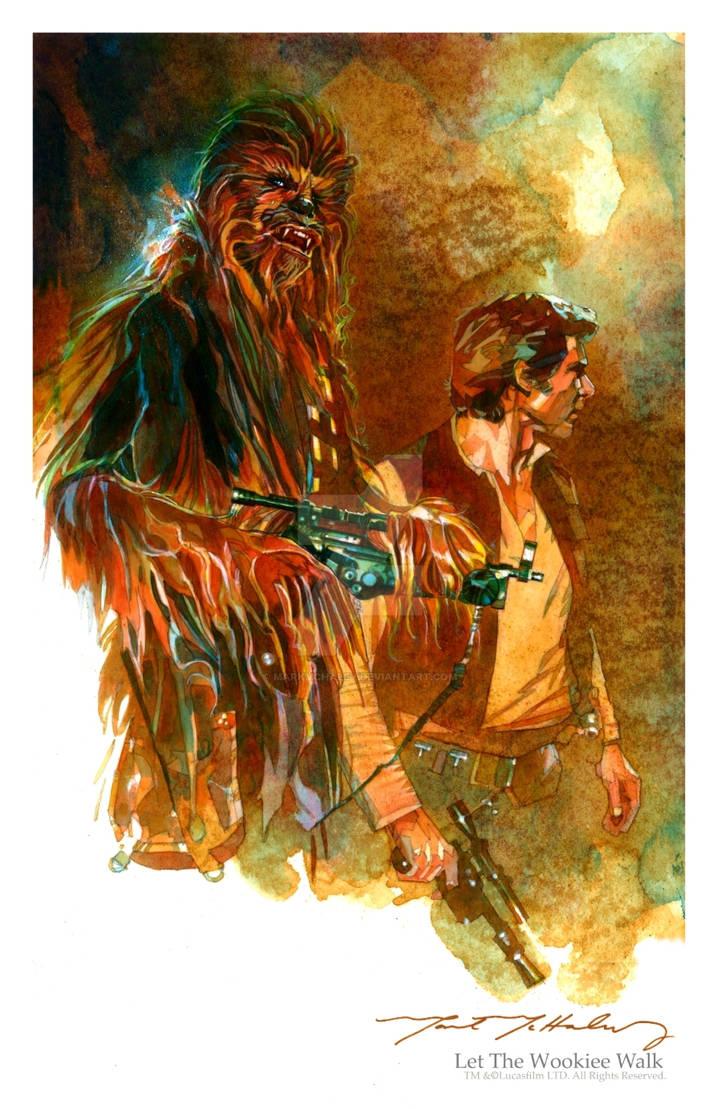 Let The Wookiee Walk