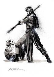 Rey + BB-8