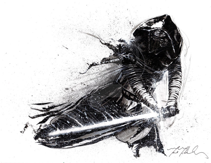 Kylo Ren by markmchaley