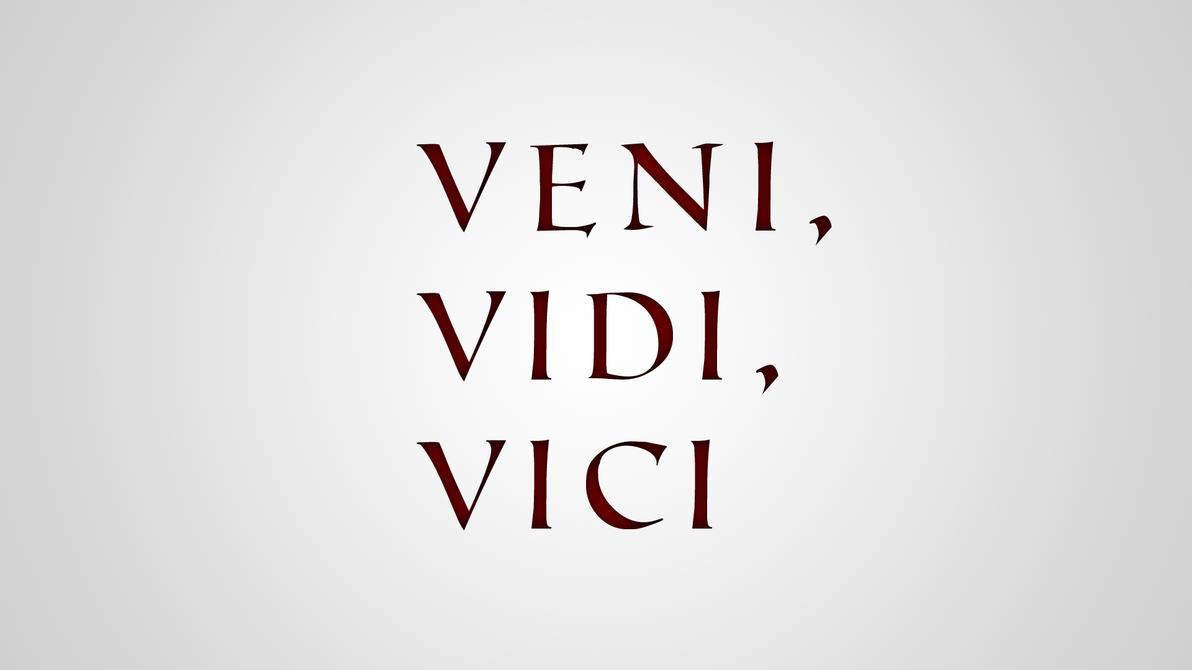 Veni vidi vici by martinblaaberg on deviantart - Veni vidi vici tatouage ...