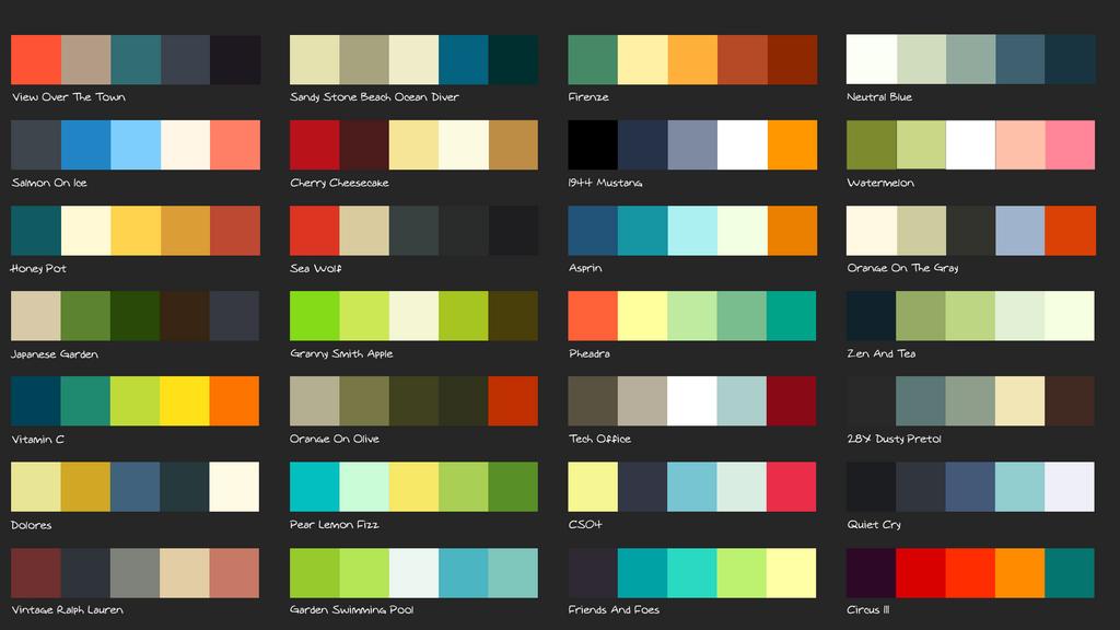 Palette Wallpaper by martinblaaberg