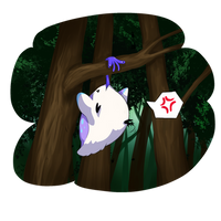 Hatchling Growth Prompt #2 - Yuffy the Trabble by Cassy484