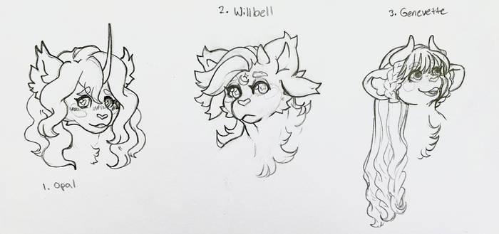 Pouflon Sketches - Ellusively