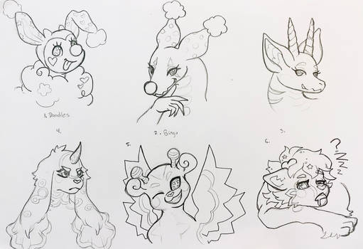 Sketches for Goatr!