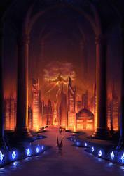Illus. for The Dark Earth