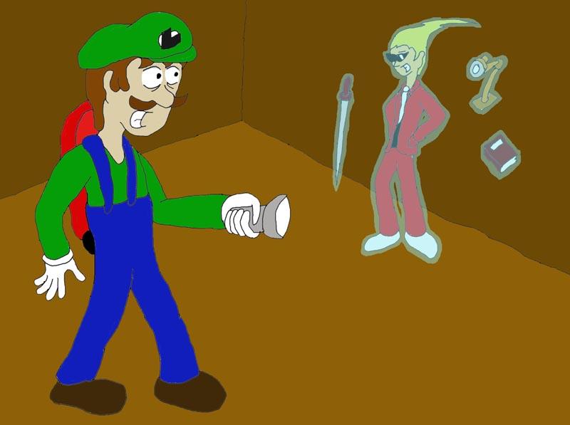 Nintendo vs capcom luigi vs sissel by ssbfreak on for Sessel ghost 05