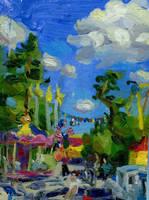 Amusement park by soiseiseke