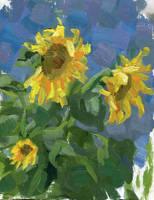 Sunflowers by soiseiseke