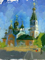 Listening cathedral`s bells by soiseiseke