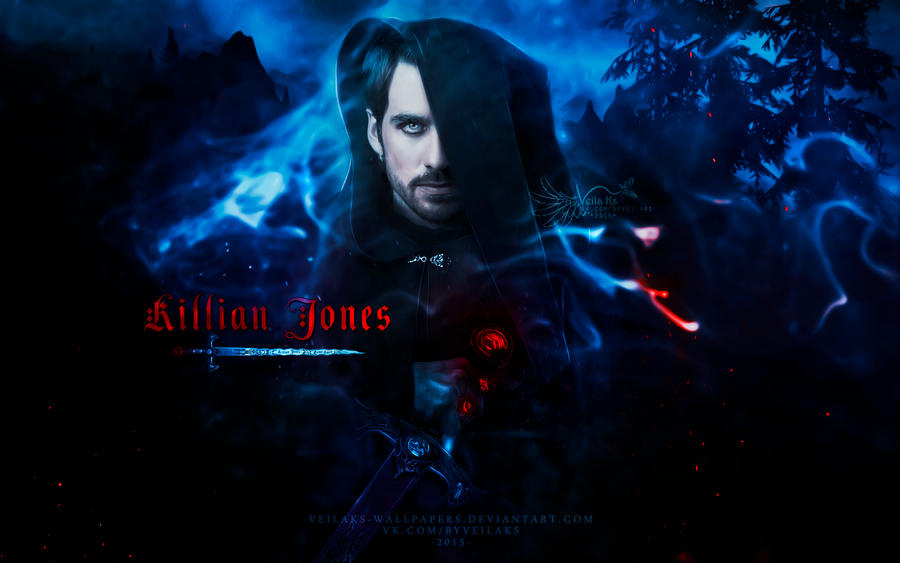 Killian Jones by VeilaKs-Wallpapers