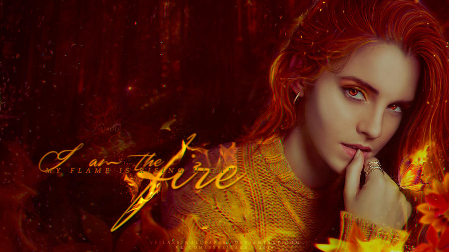 I Am The Fire By VeilaKs Wallpapers