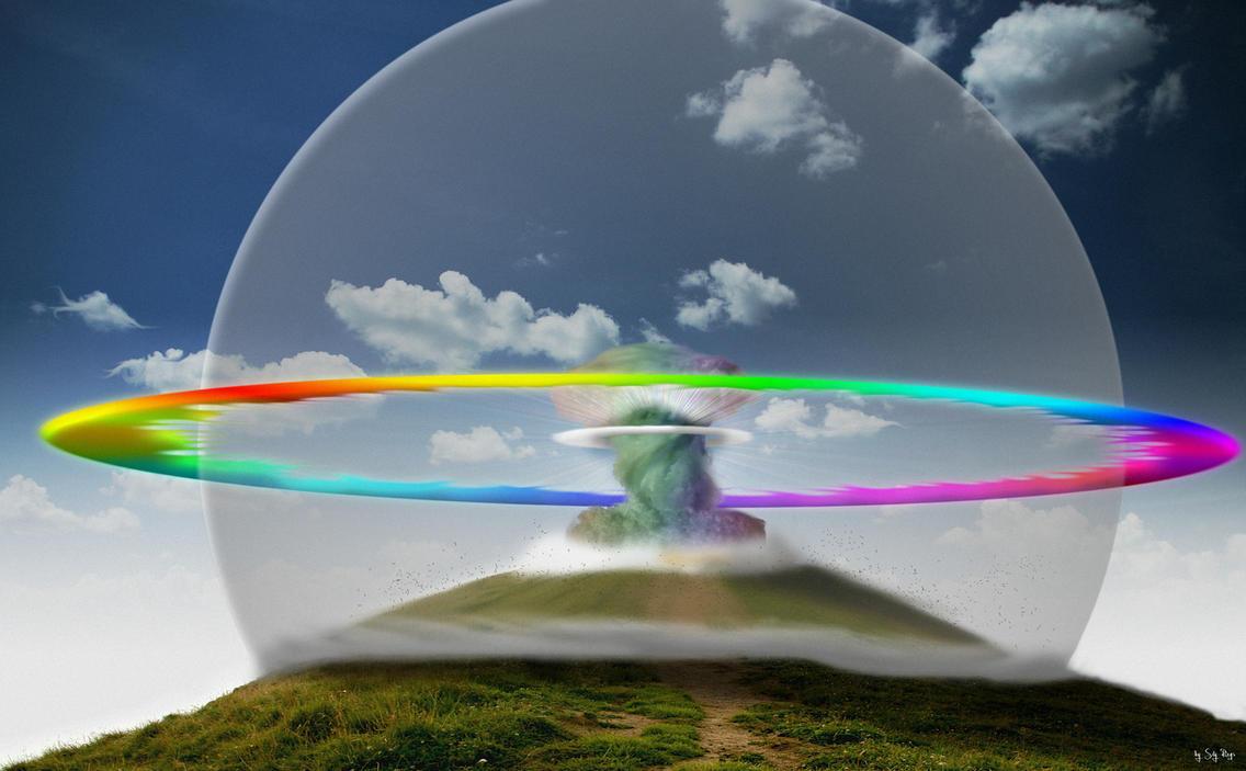 Atomic Rainboom By SkyRings
