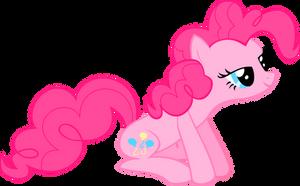 Pinkie Pie, sitting by SkyRings