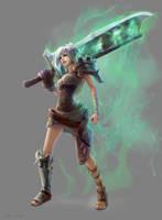 League of Legends - Riven by EwaLabak