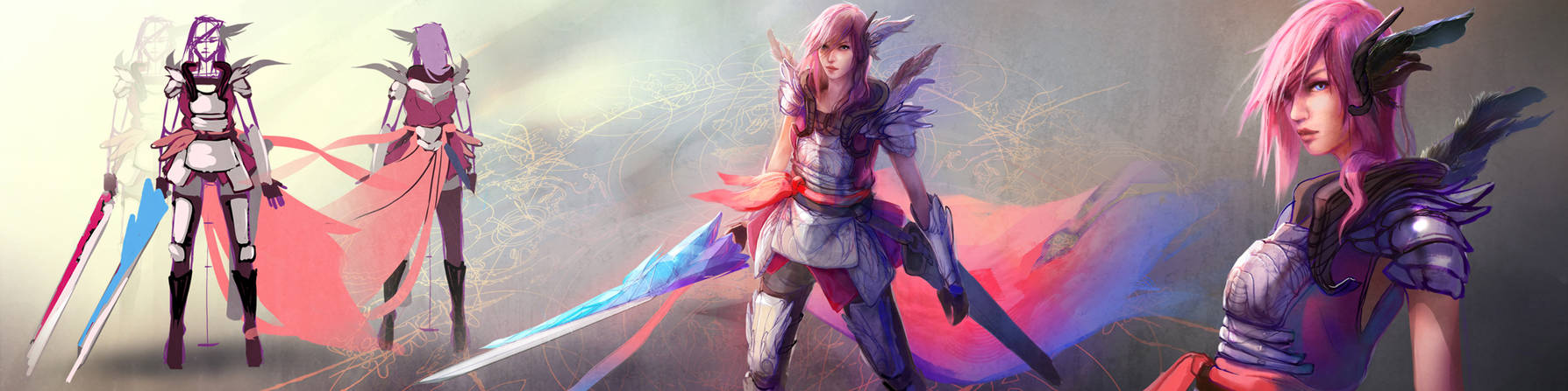 Lightning Returns - FFXIII - Silver Pink Garb