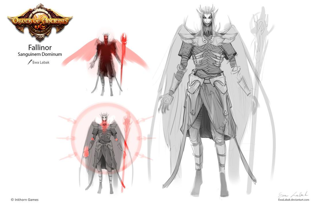 Order of Ancients - Fallinor sketch by EwaLabak