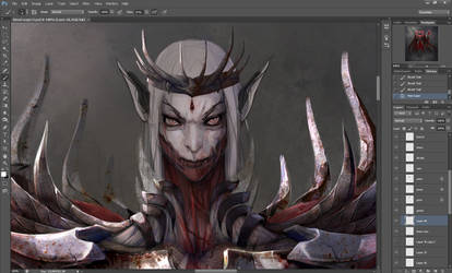 Blood Mage concept wip