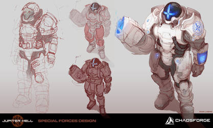 Jupiter Hell - Special forces concept art