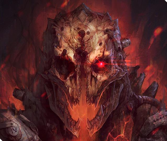 Jupiter Hell - Demon sneak peek by EwaLabak