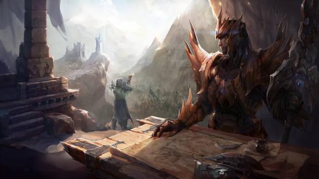 Jarvan scene for Jeremy Gaming Curios