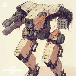 Jupiter Hell - Security Mech sneak peek