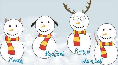 Marauder Snowmen