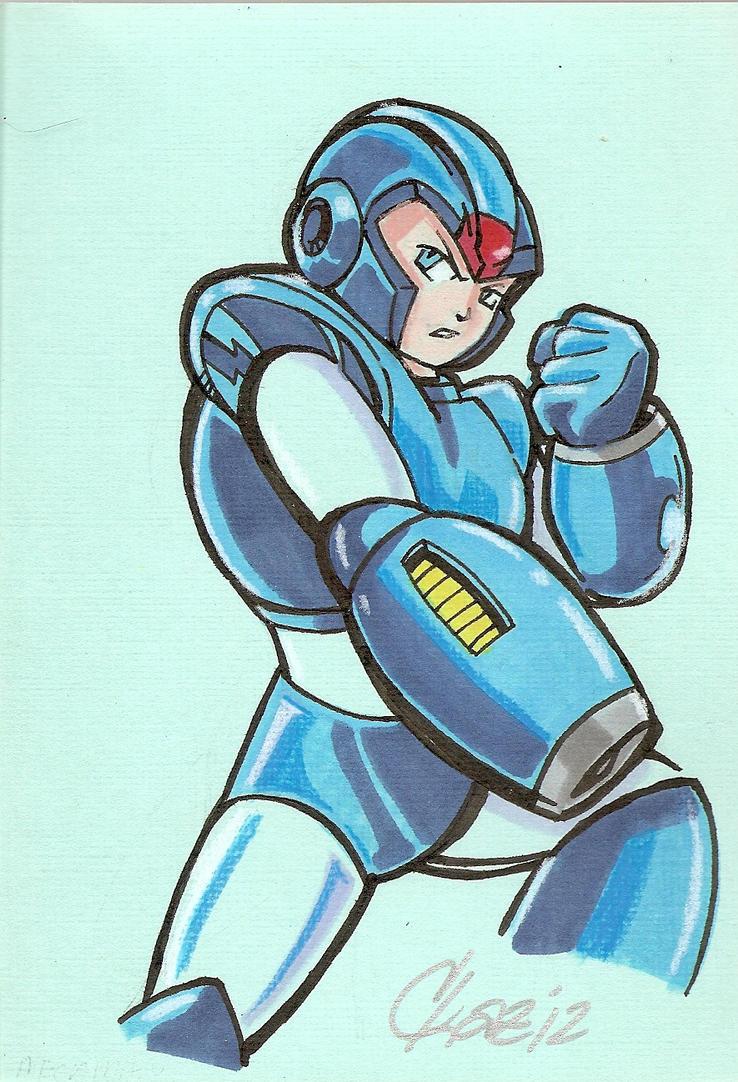 Megaman by cmkasmar