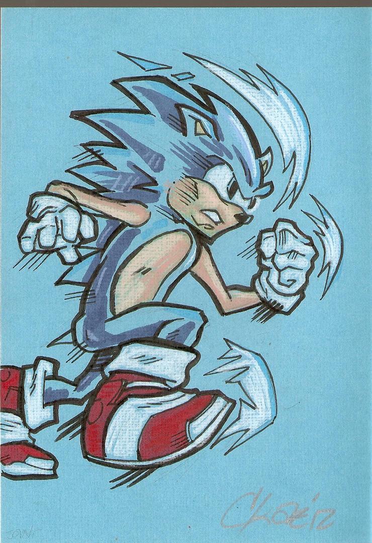 Sonic the Hedgehog by cmkasmar