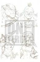 Undercity Games Fantasy Sketch Cards: Orc 1 by cmkasmar
