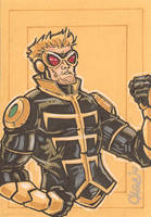Wasp Hank Pym by cmkasmar