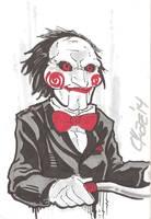 Jigsaw Puppet by cmkasmar