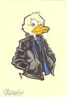 Howard the Duck by cmkasmar